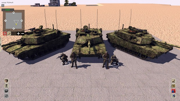 How to create Texmods for vehicle units in Call to Arms via overlay