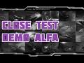 Close test demo alfa