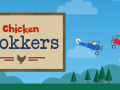 "I've launched a new 2-player game called ""Chicken Fokkers"""
