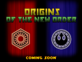 Origins of the New Order - Coming soon