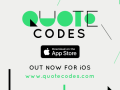Quote Codes is out for iOS!