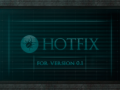 Hot fix + Install instructions