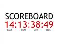 Live scoreboard is uhh... LIVE!