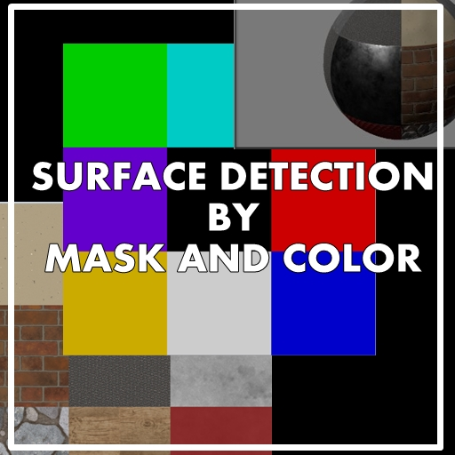 Unity Tutorial / Explanation: Using masks and colors to improve the detection of object surfaces