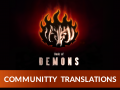 Book of Demons - Community Translations and Minimp are here!