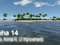 Alpha 14 - Turtles, Animal AI, UI improvements