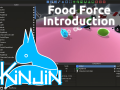 Food Force with the game engine Kinjin