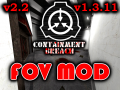 FOV Mod Now Updated To v1.3.11 of SCP - Containment Breach