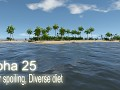 Alpha 25 - Water spoiling, Diverse diet