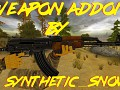 Weapons in Weapon Addon By SyntheticSnow