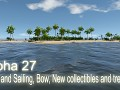Alpha 27 - Wind and Sailing, Bow, New collectibles and trees