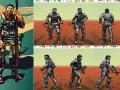 NPCs graphic creation process