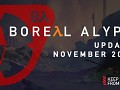 Boreal Alyph Update: November 2018