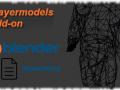 Playermodels support for the 3D modeling software Blender
