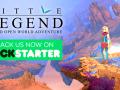 Little Legend is live on Kickstarter NOW!