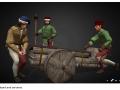 Italian Bombard with servants