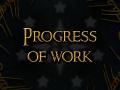 Progress of work - first models