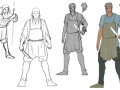 Renaissance, kitbashing and RAM saving - or how do we create our character models?