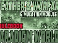 WEATHER&WARFARE; Simulation Module - Rulebook