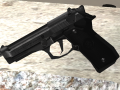Clear Sky Playable — Beretta 92FS Reworked