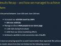Marketing efforts and KPI's - Week 1