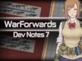 Dev Notes 7