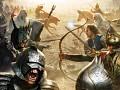 Hard working Dwarves disturbed by Goblins