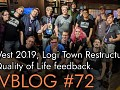 Devblog #72: Pax West 2019, Logi Town Restructuring, and Feedback and Quality of life