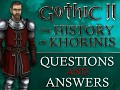 Q&A with english voice lector | GOTHIC II History of Khorinis