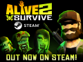 Alive 2 Survive: Tales from the Zombie Apocalypse is Out Now!