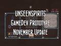 Unseen Spirits: November Update