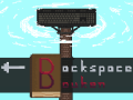 The typing game Backspace Bouken launches on Steam 12/13!