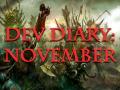 Development Diary for November