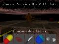 Oneiro Version 0.7.8 Changelog