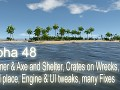 Alpha 48 - Hammer & Axe and Shelter, Crates on Wrecks & Ritual place, Engine & UI tweaks, many Fixes