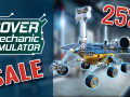 Rover Mechanic Simulator is on sale!
