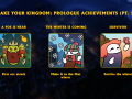 The second part of the achievements!