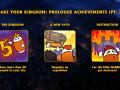 The third part of achievements!