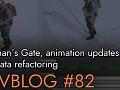 Devblog 82 - Callahan's Gate, animation updates, and data refactoring