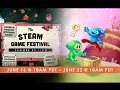 Toodee and Topdee at the Steam Game Festival