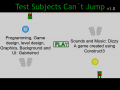 Test Subjects Can´t Jump version 1.0