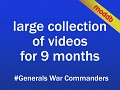 Large collection of videos
