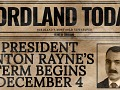 President Anton Rayne's Term Begins December 4!