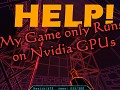 Help! My Game Only Runs on Nvidia GPUs.