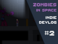 Zombies in Space - Devlog 2 - Melee, jumping and zombies
