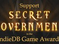 Vote Secret Government for the IndieDB Indie of the Year!
