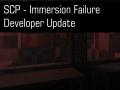 Immersion Failure Developer Update