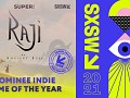Raji has been nominated by 'The SXSW Gaming Awards' for Indie Game of the Year.