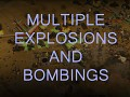 Multiple explosions and bombings