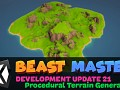Beast Master - Development Update 21 - Procedural Terrains